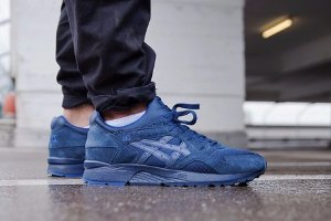 Кроссовки Asics Gel LYTE V Deep Blue/Navy