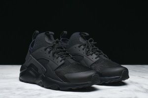 Кроссовки NIKE AIR HUARACHE RUN ULTRA TRIPLE BLACK