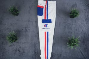 Штаны Champion white/blue
