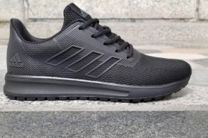 Кроссовки Adidas Neo cloudfoam race wtr black