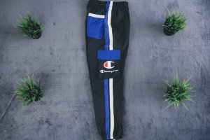 Штаны Champion black/blue