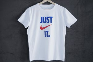 Футболка Nike JUST IT white