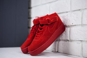 Кроссовки Nike Air Force 1 Mid '07 red
