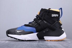 Кроссовки Nike Huarache Gripp Casual Black Orange