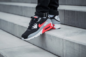 Nike Air Max 90 Black\Red