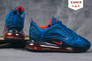 Кроссовки Nike Air Max 720 blue/orange