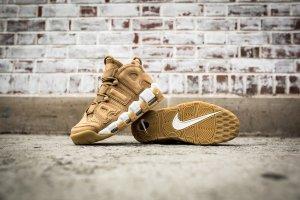 Кроссовки Nike Air More Uptempo 96 PRM - Flax