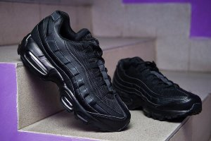 Кроссовки Nike Air Max 95 OG QS Black leather