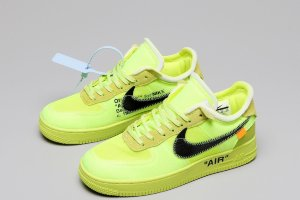 "Кроссовки Off-White x Nike Air Force 1 Low ""Volt"""